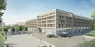 3d Renderings Grafensteiner Platz Frankfurt