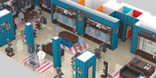 Tommy Hilfiger Shop 3d Animation