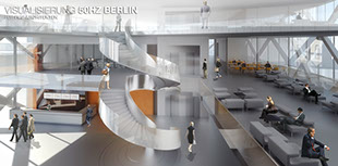 Architekturrendering für 50Hz Berlin